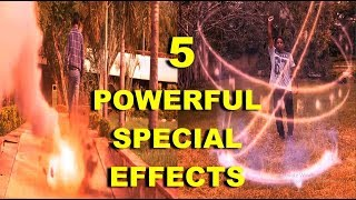 5 AFTER EFFECT THAT CAN MAKE VIDEO MORE POWERFUL | FLYING EFFECT | ROCKET EFFECT