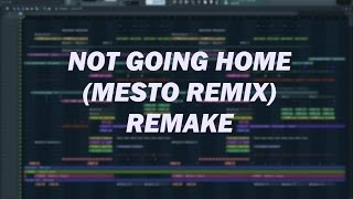 DVBBS & CMCs ft. Gia Koka - Not Going Home (Mesto Remix) FULL REMAKE FL STUDIO 12 +FLP