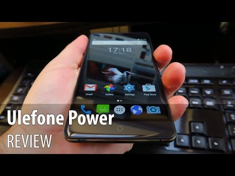 Ulefone Power Review în Limba Română (Battery Phone de 6050 mAh)