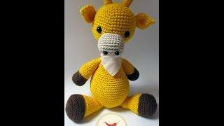 Apresentação AMIGURUMI- Mini Girafa em Crochê