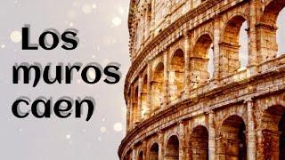 LOS MUROS CAEN MARCOS BARRIENTOS con letra ALARGADA