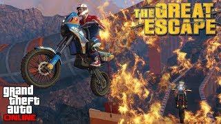 GTA Online #7: THE GREAT ESCAPE (Feat. TheStokedStoner, Maninclouds, Stefan437 & Holmesie14)