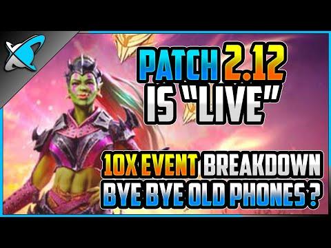 "*PATCH 2.12 IS ""LIVE""* | 10X Event Breakdown | Kreela Fragments Update | RAID: Shadow Legends"