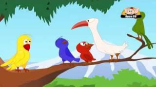 Jataka Tales in Hindi - Decietful Bird width=