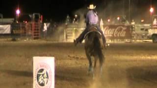 CARRERA DE BARRILES  2A DIVISIÓN  LA FINAL NACIONAL 2013 NBHA MEXICO www.caballo.tv