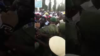 Dino Melaye, Bukola Saraki Ben Bruce Stage protest over Osun Gubernatorial Election results