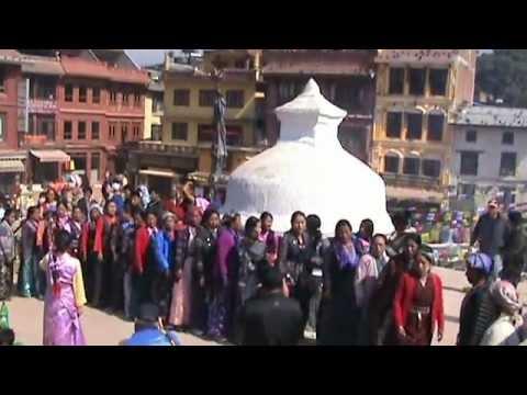 Losar Festival 2013 at Boudhanath Stupa