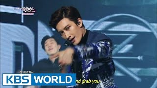 Zhoumi (조미) - Rewind (Feat. f(x) Amber) [Music Bank HOT Stage / 2014.11.07]