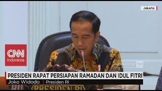 Cuti Bersama Lebaran Bertambah? Presiden Rapat Persiapan Ramadan & Idul Fitri width=