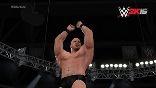 """Stone Cold"" Steve Austin's WWE 2K15 Entrance: NEXT GEN"