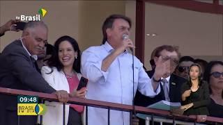 Presidente Bolsonaro visita Parnaíba, no Piauí