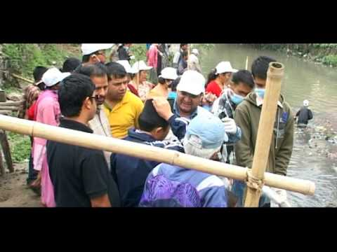 "HOMES NEPAL "" Bishnumati River Cleaning Campaign Part 1 """