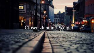 Closer - The Chainsmokers ft. Halsey cover by Jannine Weigel LYRICS