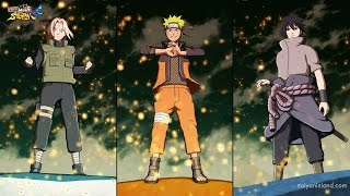Naruto Shippuden Ultimate Ninja STORM 4™ Team 7 and Summons vs Ten Tails HD Concept Art!