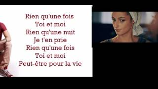 French - Keen'v - Rien qu'une fois - antAdam edit2 - Français lyrics paroles