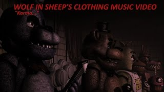 [SFM FNaF] Five Nights at Freddy's Music Video Wolf In Sheep's Clothing