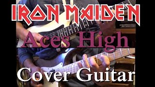 Aces High - Iron Maiden ( Cover guitars )
