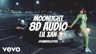 Lil Xan & Charli XCX - Moonlight (8D AUDIO) Use Headphones.
