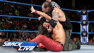 Shinsuke Nakamura vs. Baron Corbin: SmackDown LIVE, July 25, 2017