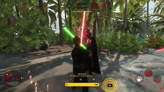 EPIC Luke Skywalker Vs Darth Vader ON SCARIF | Star Wars Battlefront