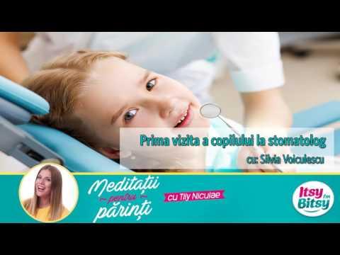 Prima vizita a copilului la stomatolog