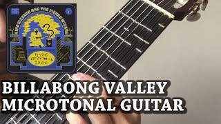 Billabong Valley - Microtonal Guitar Cover