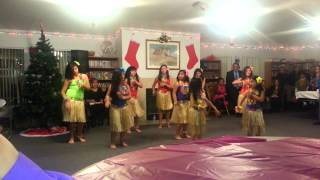 Hawaiian dance- Pate pate