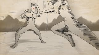 Confronto no Torneio! Cueio vs Tigui (Fan Animation)
