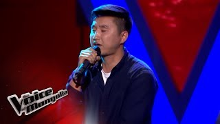 """Bilguun.M - """"Lose Yourself"""" - Blind Audition - The Voice of Mongolia 2018"""