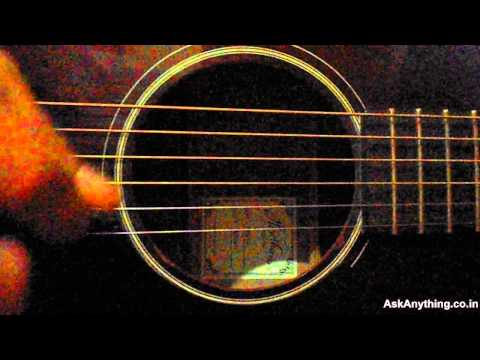Guitar Tutorial For Aadat (Atif & Jal) by-Lokesh Chords - Chordify