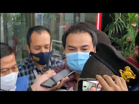 Usai Diperiksa KPK Delapan Jam, Azis Syamsuddin Bungkam