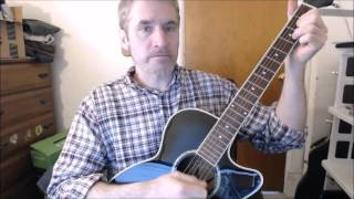 Dave's Guitar Lessons - My Sacrifice - Creed