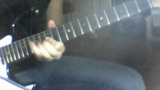 Iron Maiden - Hallowed Be Thy Name - solos (cover)