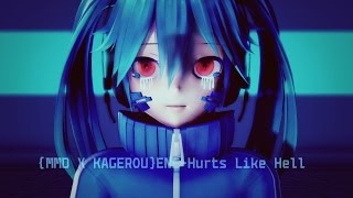 {MMD X KAGEPRO}ENE-Hurts Like Hell