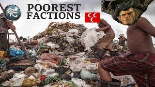 Top 5 Total War Poorest Factions