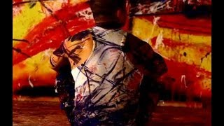 Live art London -  Painting performance by MAAD FX @ Hackney Wick