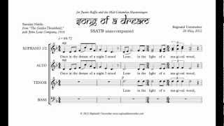 Song of a Dream score with audio