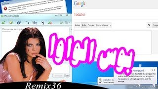 - Remix 36 - Google Traduction ' بوس الواوا ' بأصوات الكمبيوتر