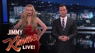 "New Lyrics for Old People: Jimmy Kimmel and Iggy Azalea Translate ""Fancy"""