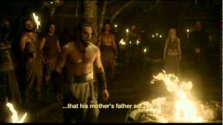 Game of Thrones - Khal Drogo Gift to Rhaego