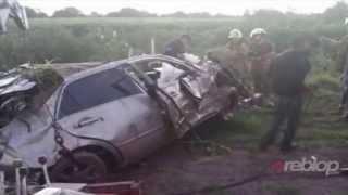 MOMENTOS Que Muere Cuerpo De Ariel Camacho En Accidente De Carro Angostura - Cadaver Muerto R.I.P!!!