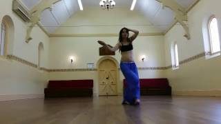"""Studio drills to Hippie Sabotage """"Options""""- tribal fusion belly dance"""