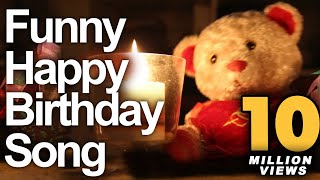 Funny Happy Birthday Song - Cute Teddy Sings Very Funny Birthday Song