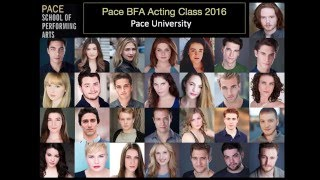 Pace BFA Acting Class 2016 Showcase Promo width=