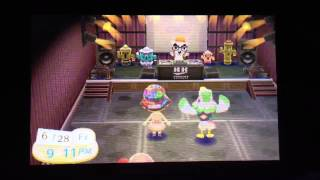 Dancing at Club LOL - Animal Crossing New Leaf