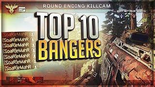 7 ONSCREEN HEADSHOT FEED!! - FaZe Agony: TOP 10 BANGERS #36 (BO3)