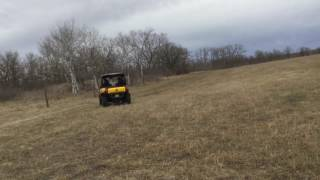 Can- am maverick XXC 1000R riding in the sand hills