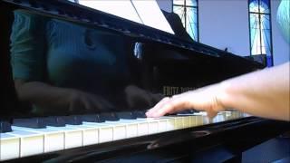 Eu vejo a glória do Senhor hoje aqui (piano e voz)