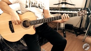 Acoustic Bass Groove (Cort SJB5F Bass)