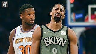 Brooklyn Nets vs New York Knicks - Full Game Highlights | November 24, 2019 | 2019-20 NBA Season